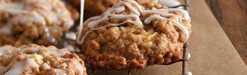 Gluten apple oat cookies